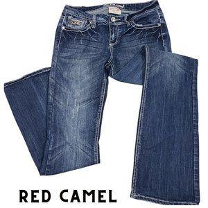 RED CAMEL Katie Fancy Pocket Boot Cut Jeans 11